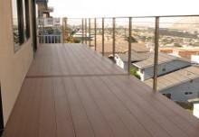 Балконы из ДПК примеры использования