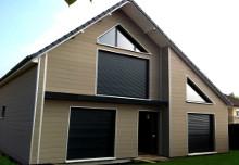 Фасады из ДПК примеры использования